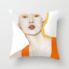 Close Up 15 Throw Pillow
