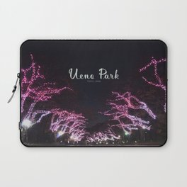 Night view in Ueno Park Laptop Sleeve