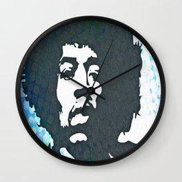 Jimi Blue Wall Clock