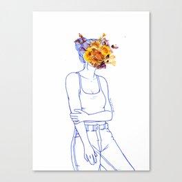 Wallflower (III) Canvas Print