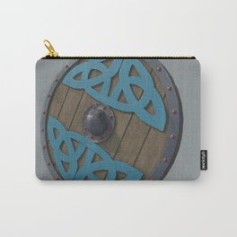 The Viking Shield - Grey Carry-All Pouch