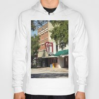 cafe Hoodies featuring City Cafe by Yellow Tie