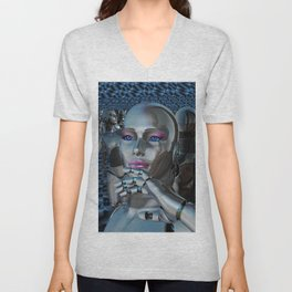 Robotic Chaos Unisex V-Neck