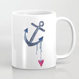 Anchored Heart Coffee Mug