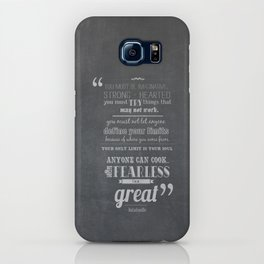 only the fearless can be great.. - Ratatouille iPhone Case
