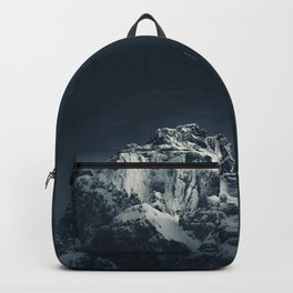 Darkness and mountain Backpack