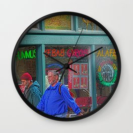 Gyros of Seattle Wall Clock