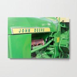 The Old John Deere Metal Print