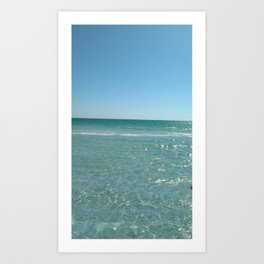 Tranquil Turquoise Art Print