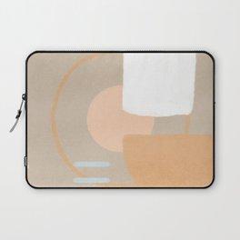Simple shapes boho minimalist design Laptop Sleeve