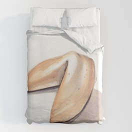 Fortune Cookie Duvet Cover