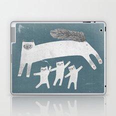 Cat Family of sacred birman Laptop & iPad Skin