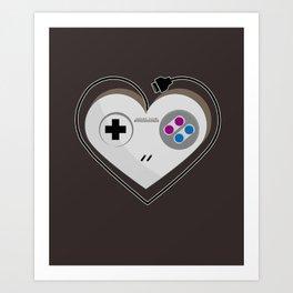 A Classic Love V.2 Art Print