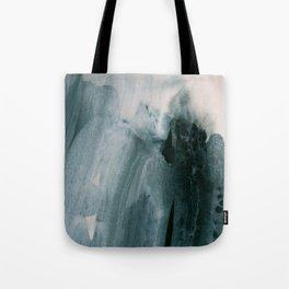 greyish brush strokes Tote Bag