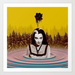 MUNSTER BATH Art Print