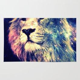 Galaxy Lion : Deep Pastels Rug