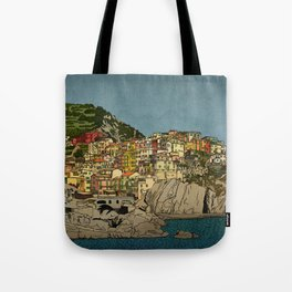 Of Houses and Hills Tote Bag