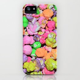 Colored Popcorn iPhone Case