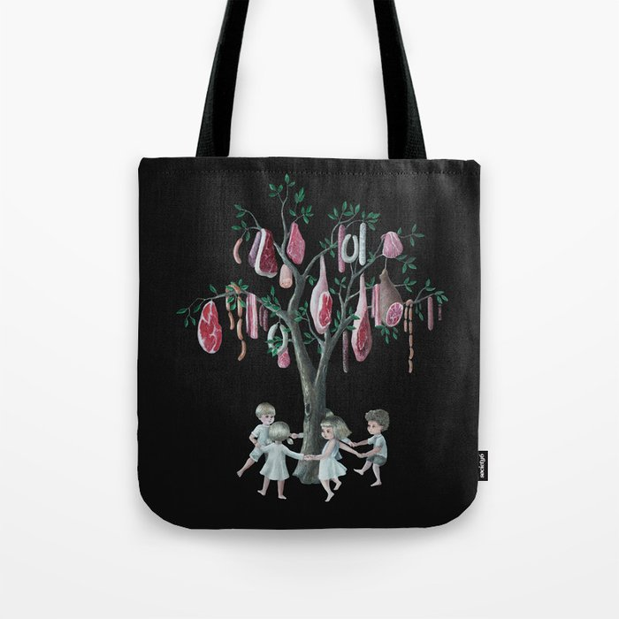 The Meat Tree Tote Bag