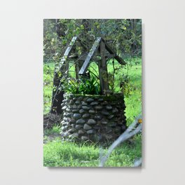 The Wishing Well Metal Print