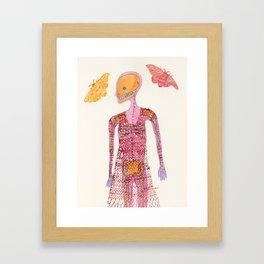 Knit Dress Framed Art Print