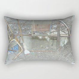 Abandoned Places Rectangular Pillow