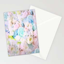 ROSE WHISPERER FADE OUT MOSAIC IMPRESSION Stationery Cards