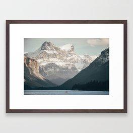 Among the giants. Framed Art Print