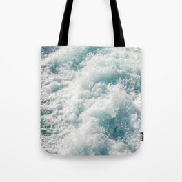 Foamy Waves Tote Bag