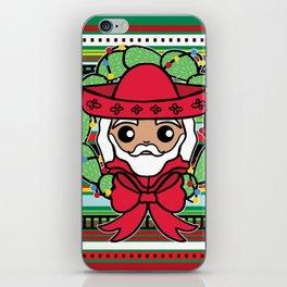 Santa Claus Serape iPhone Skin