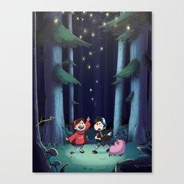 Late Night Walk Canvas Print