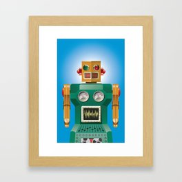 Tin Man No. 1 Framed Art Print