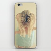 fly iPhone & iPod Skins featuring Fly by Cassia Beck