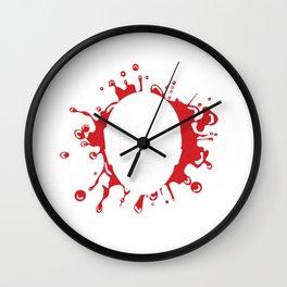 Paintball Bullseye Paintball Target Player Marker Gift Wall Clock