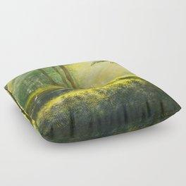 Sunny meadow Floor Pillow