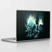 werewolf Laptop & iPad Skins featuring Werewolf. by Danilo Sanino