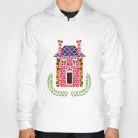 home sweet home Hoodies featuring Home Sweet Home by haidishabrina
