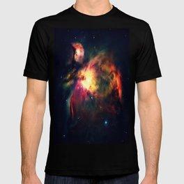 Orion NEbula Dark & Colorful : Hauntingly Beautiful Series T-shirt