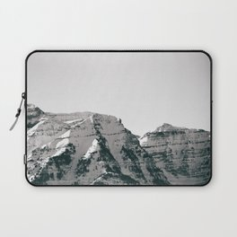 Black and White Wasatch Mountains Laptop Sleeve