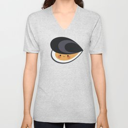 Cute mussels Unisex V-Neck