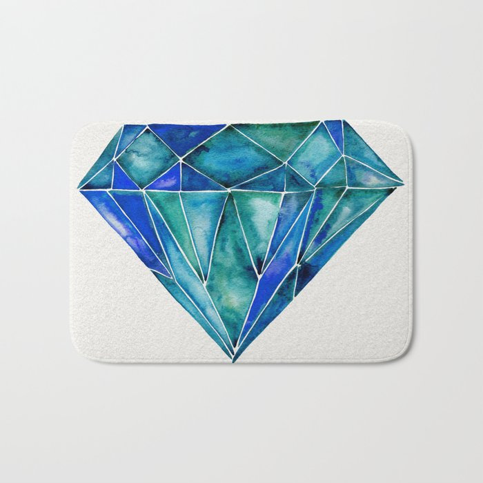 Aquamarine Bath Mat