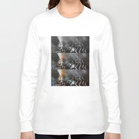tv Long Sleeve T-shirts featuring Television by J.J.