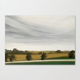 Corn Fields Canvas Print