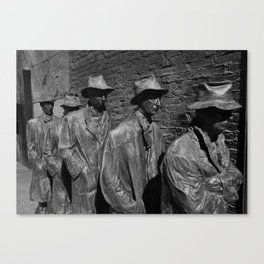 The Bread Line Canvas Print