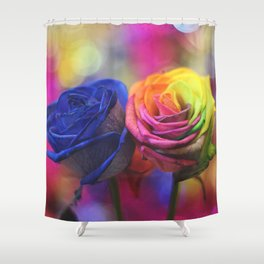 Colour Your Life Shower Curtain