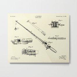 Fishing Tackle-1884 Metal Print