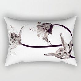 SKULL  X-RAY Rectangular Pillow