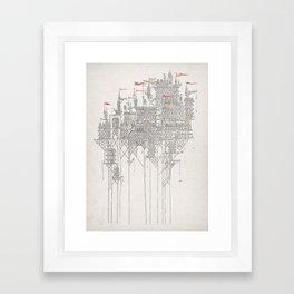 Zenobia the Invisible City Framed Art Print