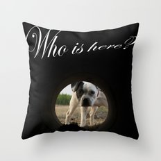My dog Kira  Throw Pillow