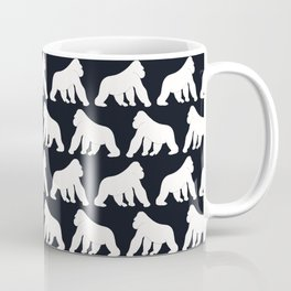 Gorillas White Coffee Mug